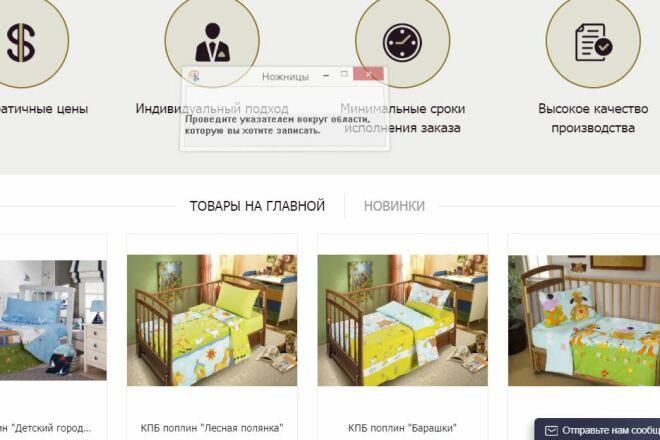 Создам интернет-магазин 4 - kwork.ru
