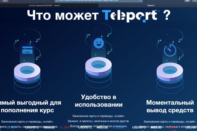 Вёрстка сайтов по доступной цене 10 - kwork.ru