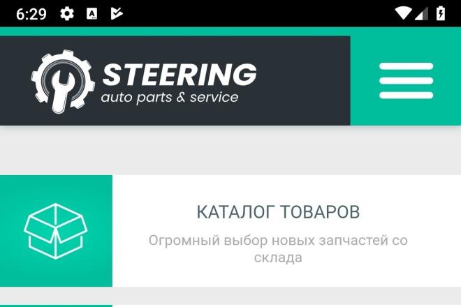 Конвертирую Ваш сайт в Android приложение 24 - kwork.ru