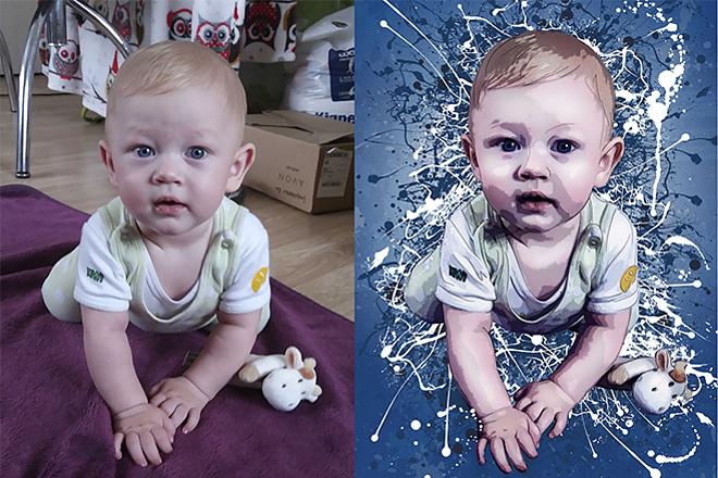 Выполню фотомонтаж в Photoshop 62 - kwork.ru