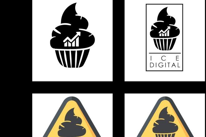 Разработаю логотип для вашего бизнеса, компании или просто так 3 - kwork.ru