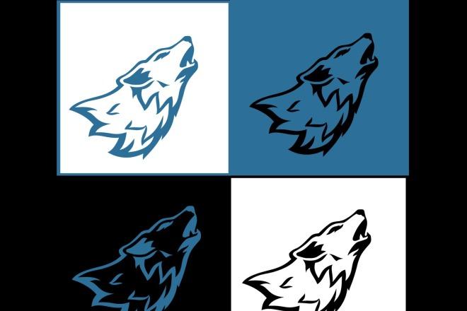 Создам логотип в векторе 5 - kwork.ru