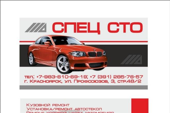 Создам визитку, быстро 4 - kwork.ru