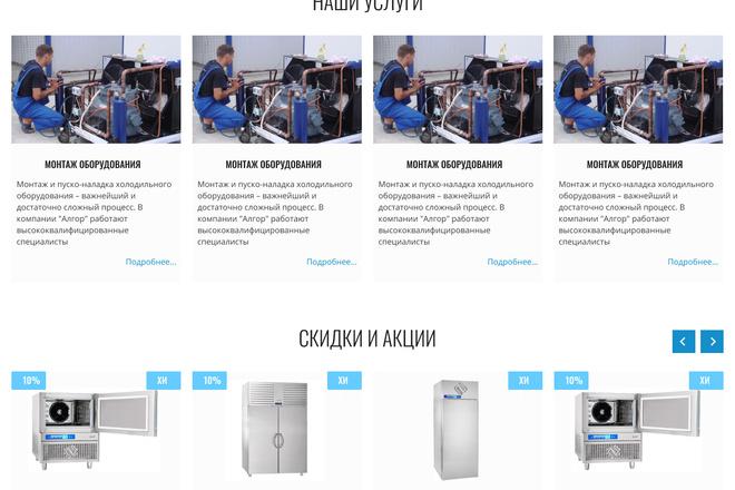 Уникальный дизайн сайта для вас. Интернет магазины и другие сайты 169 - kwork.ru