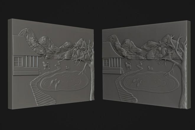 Создам 3D модель для печати или чпу 15 - kwork.ru