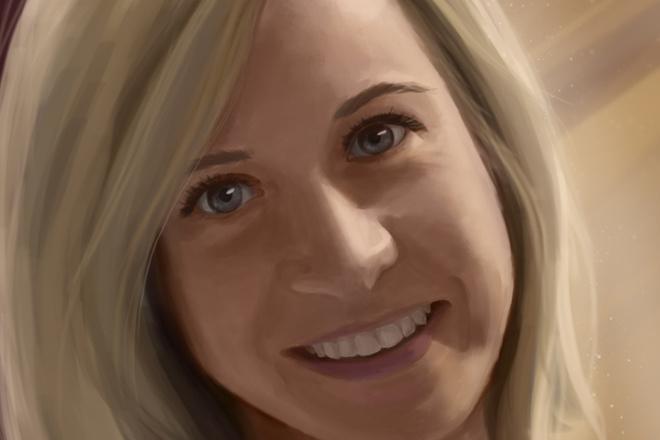 Рисую цифровые портреты по фото 4 - kwork.ru