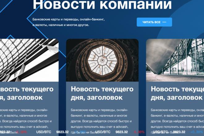 Вёрстка сайтов по доступной цене 9 - kwork.ru