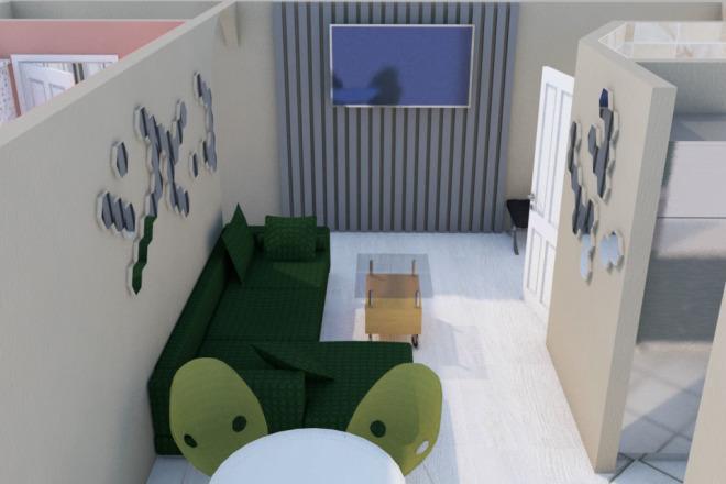 Создам планировку дома, квартиры с мебелью 31 - kwork.ru