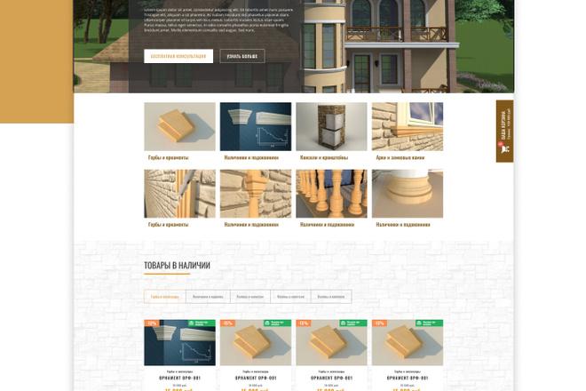 Уникальный дизайн сайта для вас. Интернет магазины и другие сайты 31 - kwork.ru
