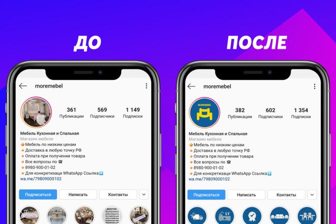 Обложки на актуальные в инстаграм 1 - kwork.ru