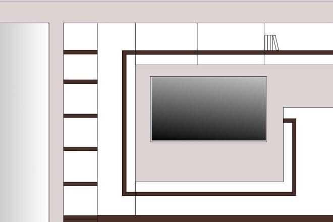 Создание 3д модели помещения по 2д чертежу 6 - kwork.ru