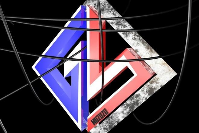 Сделаю 3D логотип 3 - kwork.ru
