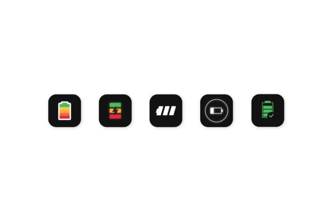 Создам 5 иконок в любом стиле, для лендинга, сайта или приложения 4 - kwork.ru