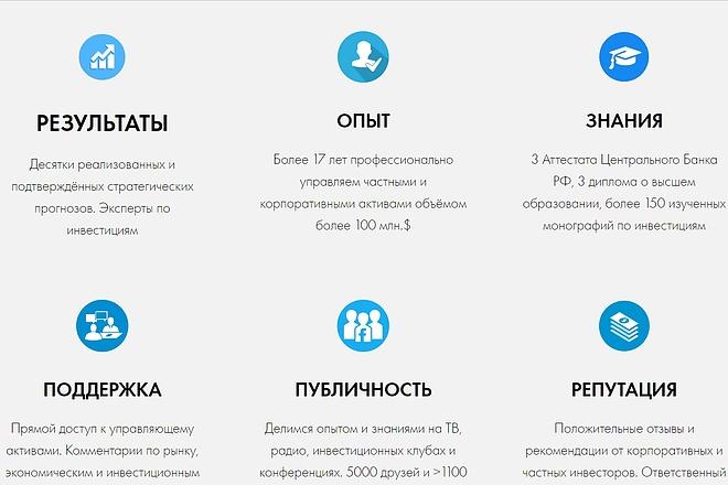 Создание сайта - Landing Page на Тильде 86 - kwork.ru