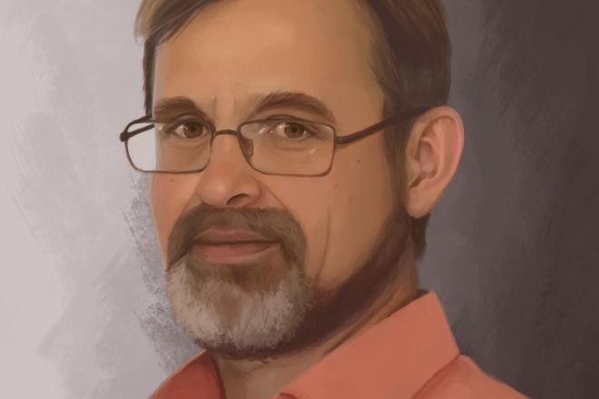 Рисую цифровые портреты по фото 10 - kwork.ru
