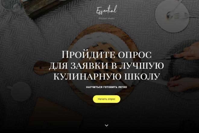 Квиз-лендинг под ключ 25 - kwork.ru
