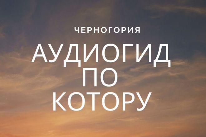 Озвучу текст, аудиокнигу 1 - kwork.ru