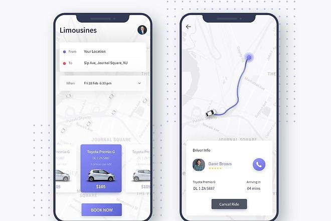 UI UX Дизайн экрана iOS или Android приложения 3 - kwork.ru