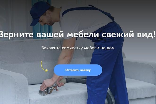 Создание сайта - Landing Page на Тильде 31 - kwork.ru