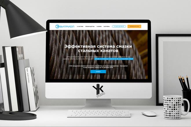 Лендинг под ключ, крутой и стильный дизайн 14 - kwork.ru