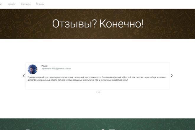 Лендинг для любых целей на Wordpress 17 - kwork.ru