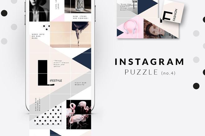 25000 шаблонов для Instagram, Вконтакте и Facebook + жирный Бонус 24 - kwork.ru