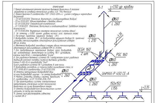 Проектирование вентиляции 37 - kwork.ru