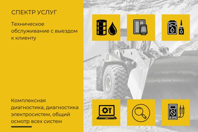 Стильный дизайн презентации 154 - kwork.ru