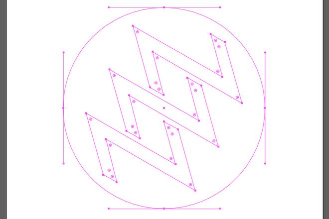 Отрисовка логотипа в векторе. Молниеносно 1 - kwork.ru