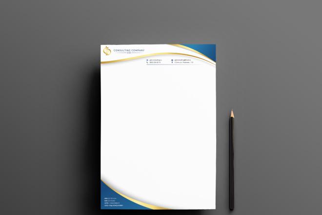 Оформление бланков и документов в фирменном стиле 2 - kwork.ru