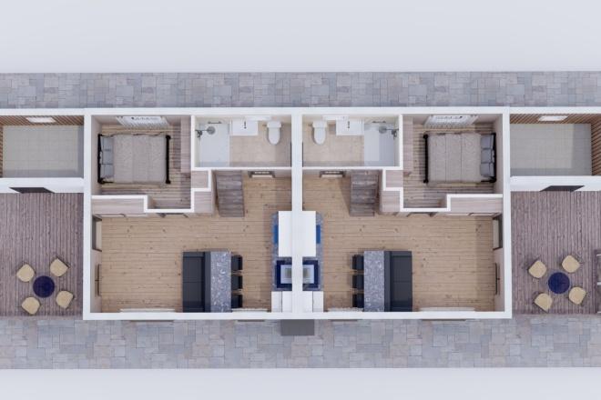 Фотореалистичная 3D визуализация экстерьера Вашего дома 18 - kwork.ru