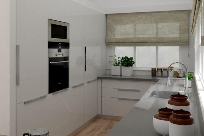 Дизайн-проект кухни. 3 варианта 31 - kwork.ru