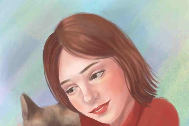 Яркий цифровой портрет по фото 6 - kwork.ru