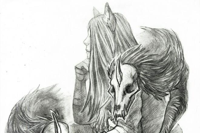 Быстро нарисую персонажа, иллюстрацию в любом стиле 7 - kwork.ru