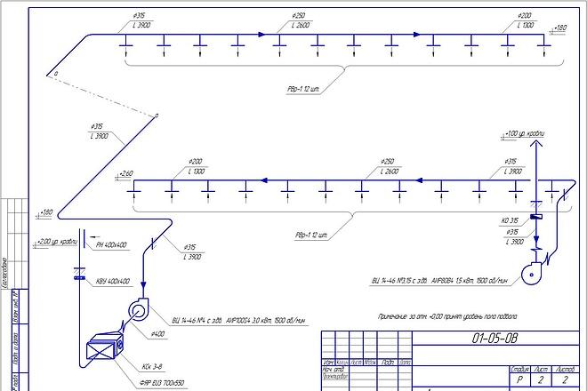 Проектирование вентиляции 34 - kwork.ru