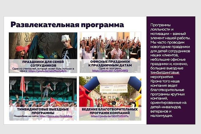 Исправлю дизайн презентации 46 - kwork.ru