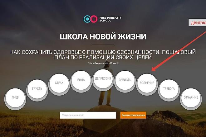 Лендинг для любых целей на Wordpress 34 - kwork.ru