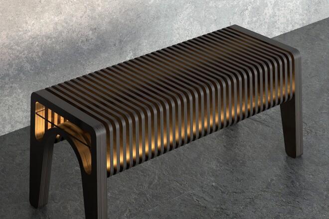 3D моделирование и визуализация мебели 18 - kwork.ru