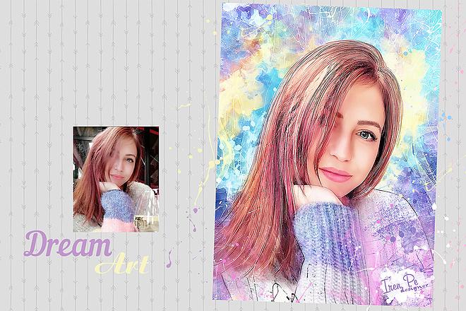 Dream Art портрет 1 - kwork.ru