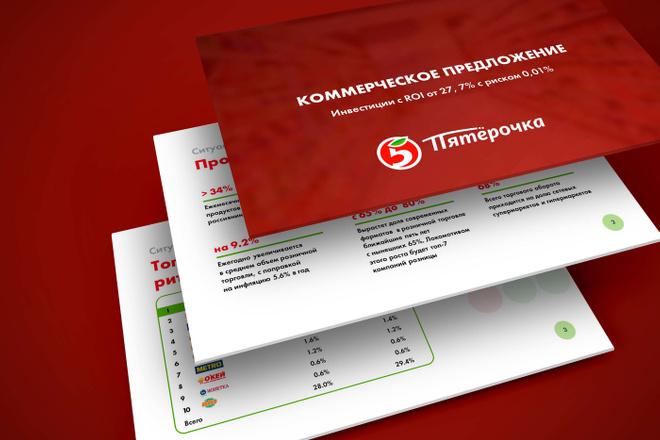 Дизайн средней презентации 4 - kwork.ru