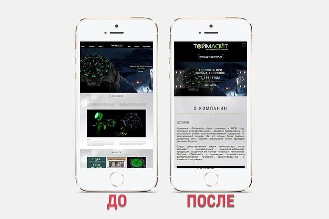 Адаптация сайта под все разрешения экранов и мобильные устройства 36 - kwork.ru