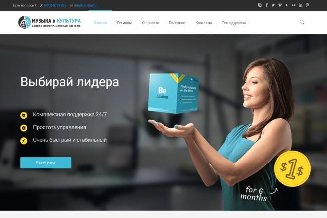 Новые премиум шаблоны Wordpress 47 - kwork.ru