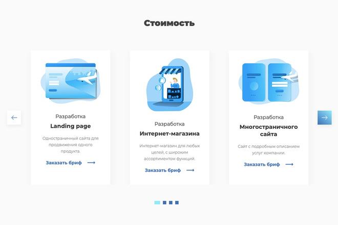 Сверстаю сайт по любому макету 162 - kwork.ru