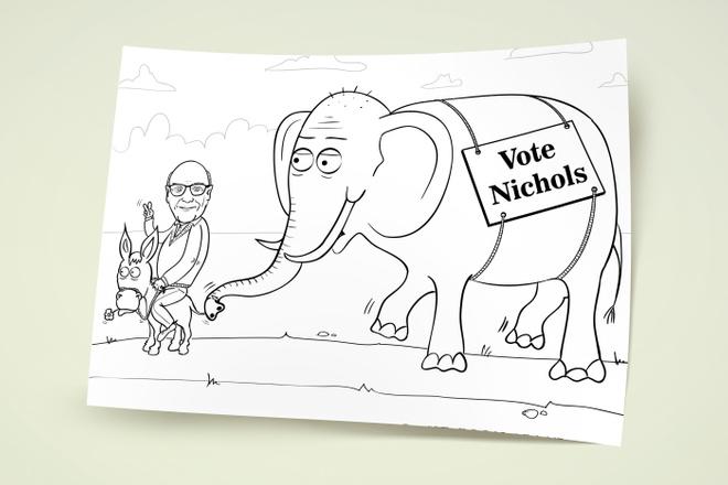 Нарисую простую иллюстрацию в жанре карикатуры 17 - kwork.ru