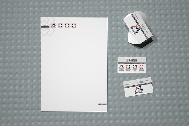 Двухсторонняя визитка + фирменный бланк 7 - kwork.ru
