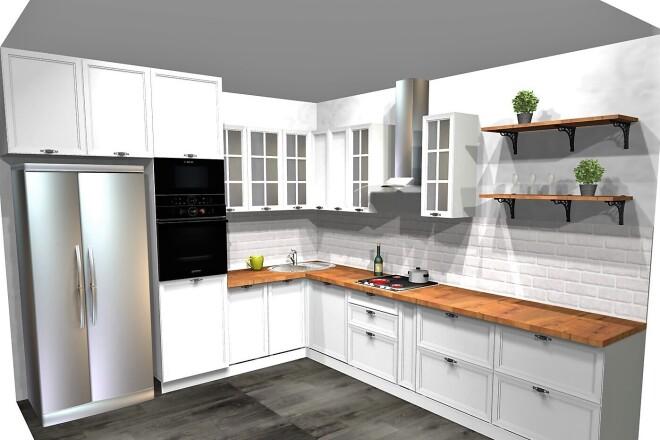Проектирование корпусной мебели 33 - kwork.ru
