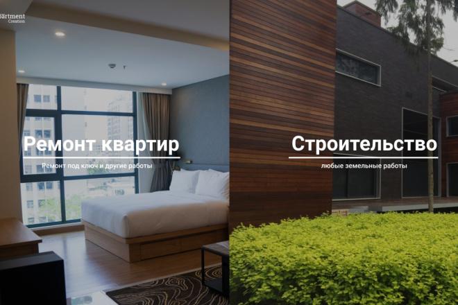 Верстка по PSD макету 1 - kwork.ru