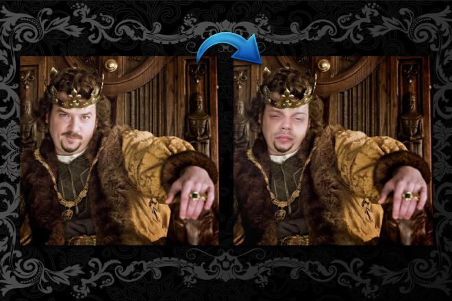 Реалистичная замена лица на фото 3 - kwork.ru