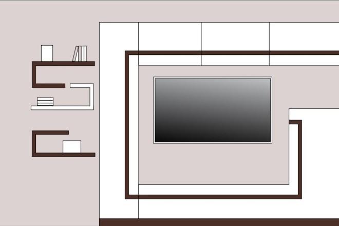 Создание 3д модели помещения по 2д чертежу 5 - kwork.ru