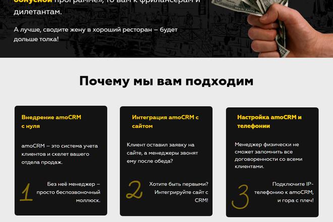 Создание сайтов на конструкторе сайтов WIX, nethouse 8 - kwork.ru